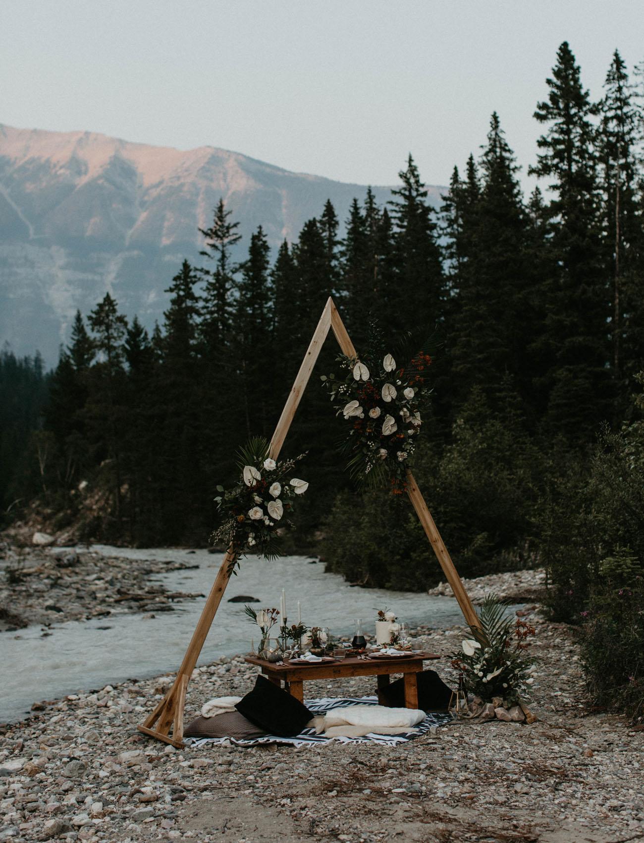 boda para dos en el pirineo