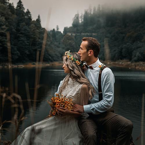"""BODA PARA DOS EN EL PIRINEO Un elopement es la forma más romántica e intima de dar el """"sí quiero"""" y el Pirineo, sin duda, es el escenario ideal."""